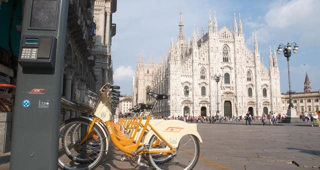 BW Hotel Astoria offers you the opportunity to take a bike tour in and around Milan.