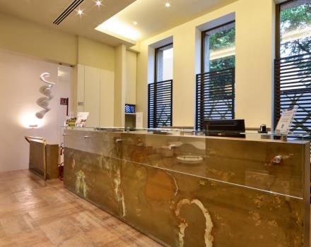our new Reception: style and Design at the Best Western hotel Madison
