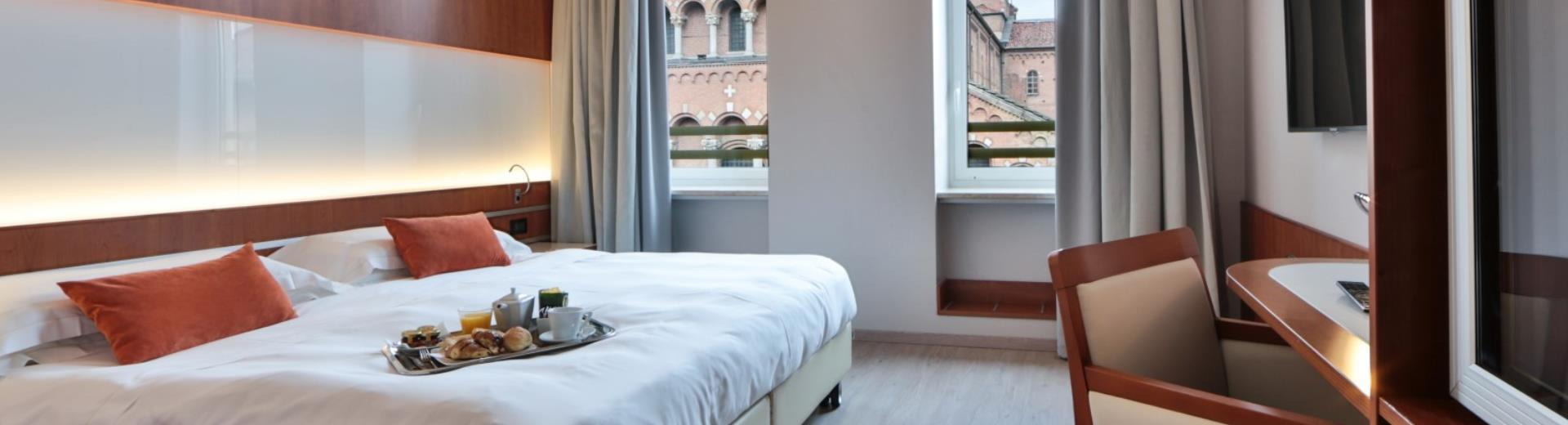 Double twin room-Hotel Astoria Milan